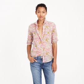 Boy shirt in poppydot floral at J. Crew