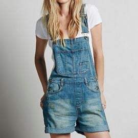 Boyfriend Shortall Overalls by Free People at Free People