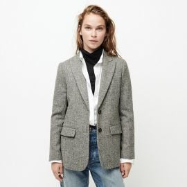 Boyfriend blazer in English herringbone wool at J. Crew