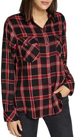 Boyfriend for Life Plaid Long Sleeves Button-Down Top by Sanctuary at Amazon