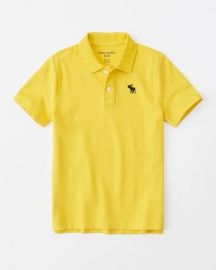 Boys Icon Stretch Polo at Abercrombie