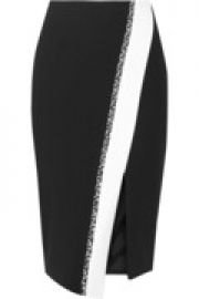 Bradshaw piqu skirt at The Outnet