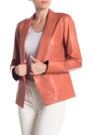 Brandt Leather Blazer Jacket at Nordstrom Rack