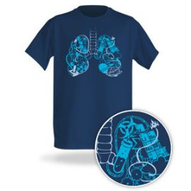 Breathe Geek Tee at Think Geek