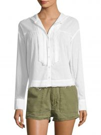 Breezy Pleated Shirt at Gilt