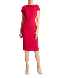 Brenin Crepe Dress by Roland Mouret at Neiman Marcus