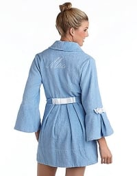 Bridal robe by Betsey Johnson at Lord & Taylor