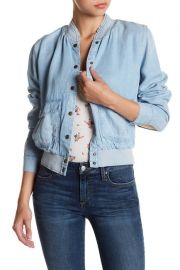 Briggite Denim Bomber Jacket by Joe\'s Jeans at Nordstrom Rack