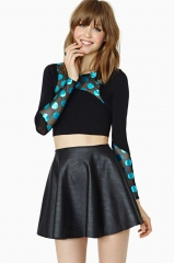 Bright Spot Crop Top at Nasty Gal