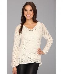 Brigitte Bailey Keren Sweater White at Zappos