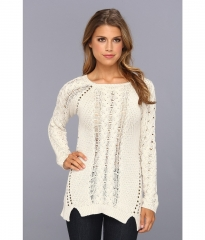 Brigitte Bailey Kya Sweater White at 6pm