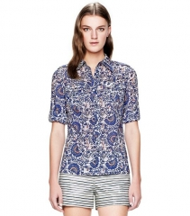 Brigitte Blouse at Tory Burch