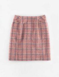 British Tweed Mini Skirt at Boden