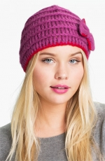 Brittany's pink beanie at Nordstrom