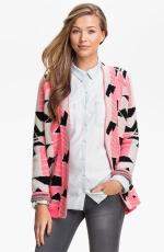 Brittanys pink cardigan at Nordstrom