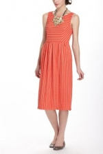 Brittanys striped dress at Anthropologie