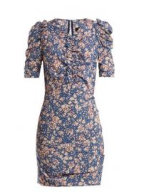 Brizia floral-print puff-sleeved dress at Matches