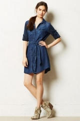Broadcast Chambray Dress at Anthropologie