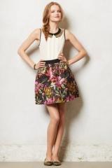 Brocade Blooms Skirt at Anthropologie