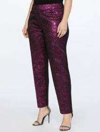 Brocade Pants at Eloquii