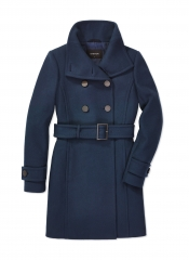 Bromley wool coat by Babaton at Aritzia