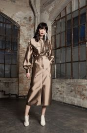 Bronte Patch Pocket Shirtdress by Victoria Hayes at Victoria Hayes