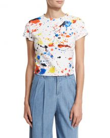 Bronte Splatter Top at Neiman Marcus