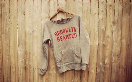 Brooklyn Hearted Sweatshirt at Etsy