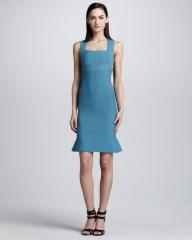 Brooks scuba dress by Roland Mouret at Neiman Marcus