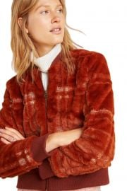 Brown Teddy Jacket by Anthropologie at Anthropologie