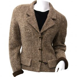 Brown Tweed Jacket by Chanel at Vestaire Collective