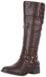 Brown riding boots like Pennys at Amazon