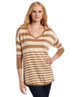 Brown striped sweater by Joie at Amazon