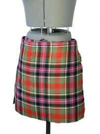 Bruce of Kinnaird Tartan Skirt by Vivienne Westwood at Vinterhouse