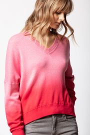 Brumy Dip Dye Sweater by Zadig and Voltaire at Zadig & Voltaire
