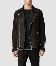 Bryning Leather Biker Jacket at All Saints