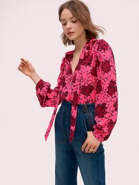 Bubble Dot Blouse by Kate Spade at Kate Spade