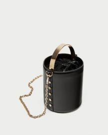 Bucket Bag with Metal Handle by Zara at Zara