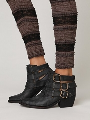 Buckle back ankle boot at Free People