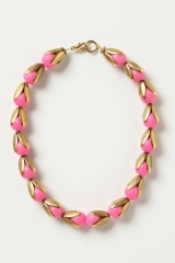 Budding Neon Necklace  at Anthropologie