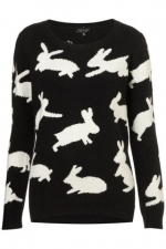 Bunny sweater from Topshop at Topshop