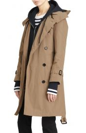 Burberry Amberford Taffeta Trench Coat with Detachable Hood at Nordstrom
