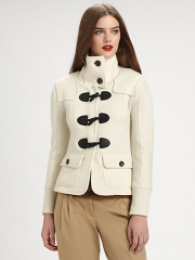 Burberry Brit - Merino Wool Toggle Jacket at Saks Fifth Avenue