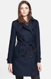 Burberry Brit  Bramington  Cotton Blend Trench Coat at Nordstrom