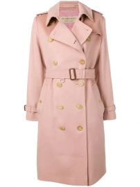 Burberry Cashmere Trench Coat  - Farfetch at Farfetch