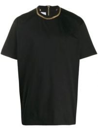 Burberry Chain Detail T-shirt - Farfetch at Farfetch