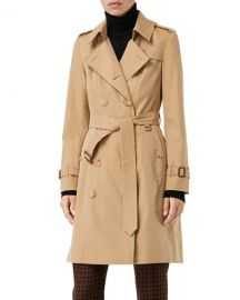 Burberry Chelsea Heritage Slim-Fit Trench Coat at Neiman Marcus
