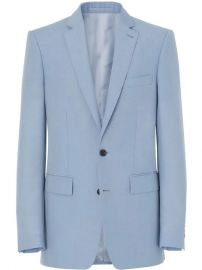 Burberry Classic Fit Tailored Jacket - Farfetch at Farfetch