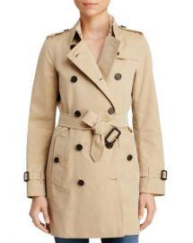 Burberry Heritage Kensington Mid-Length Trench Coat Women - Bloomingdale s at Bloomingdales