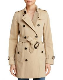 Burberry Heritage Kensington Mid-Length Trench Coat Women - Bloomingdale s at Bloomingdales